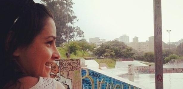A skatista de Paraty Giselle Ferreira. Ela não andará na pista a ser inaugurada na cidade - Reprodução/Internet