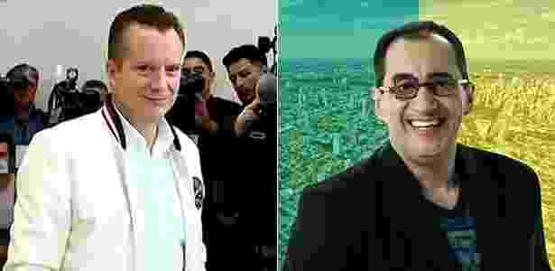 Russomanno e Kajuru se candaidataram para as eleições - Folhapress/Reprodução