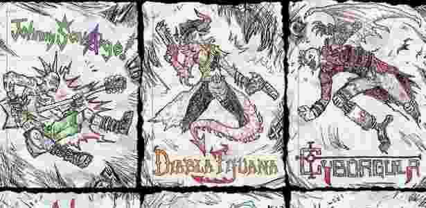 Drawn To Death - Divulgação - Divulgação