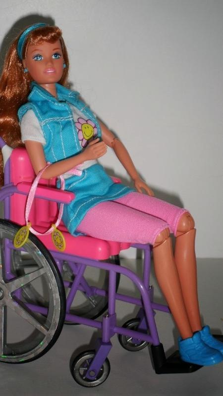 A boneca Becky, que é amiga da Barbie - Reprodução