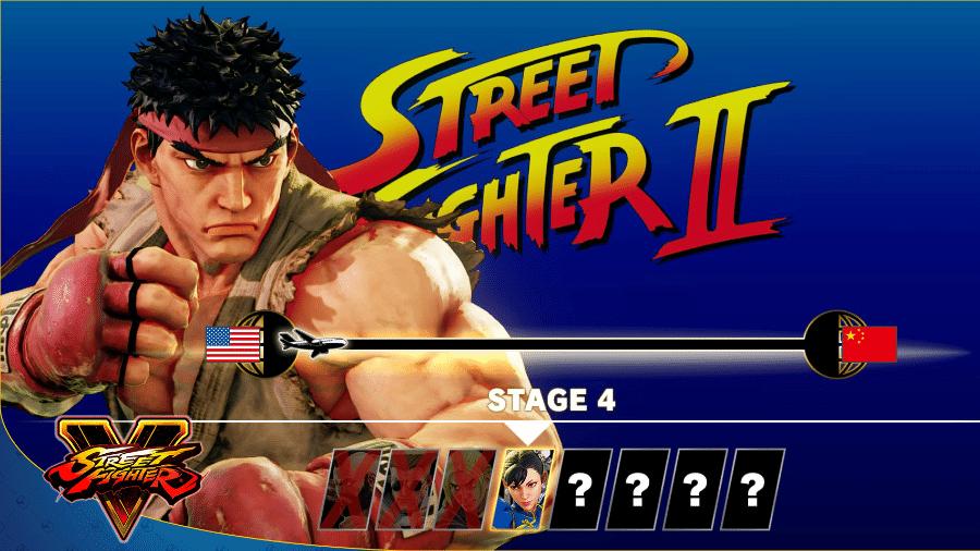 """Modo arcade de """"Street Fighter V"""" vai homenagear os principais games da série de luta - Divulgação"""