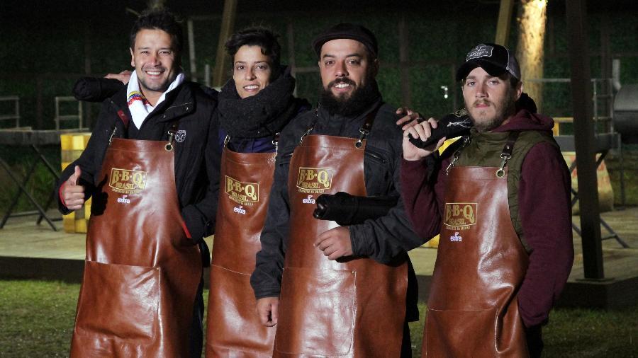 "Participantes do ""BBQ Brasil"" - Gabriel Gabe/SBT"