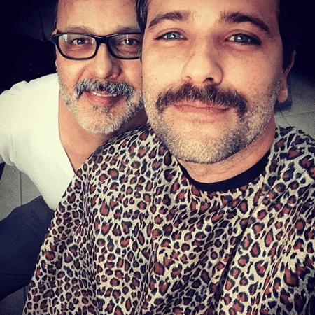 Bruno Gagliasso mostra visual ao lado do caracterizador Martín Macías Trujillo - Reprodução/Instagram/brunogagliasso