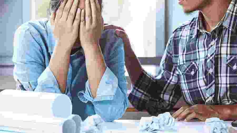 Síndrome de Burnout é quando há um colapso mental e físico por conta do excesso de trabalho - iStock