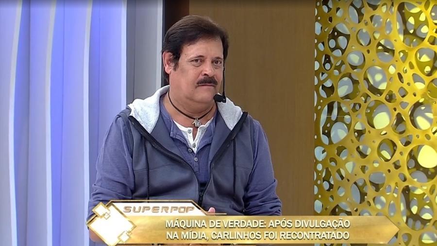 """Carlinhos Aguiar foi o convidado do """"Superpop"""" - Reprodução/RedeTV!"""