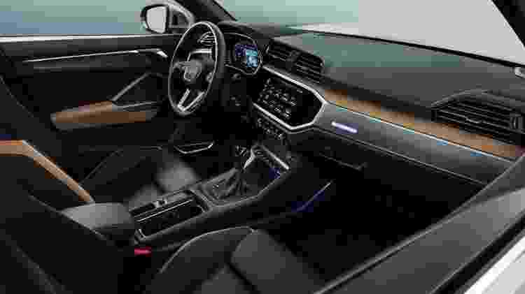 Audi Q3 interior - Divulgação - Divulgação
