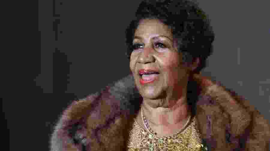 A cantora Aretha Franklin - AFP
