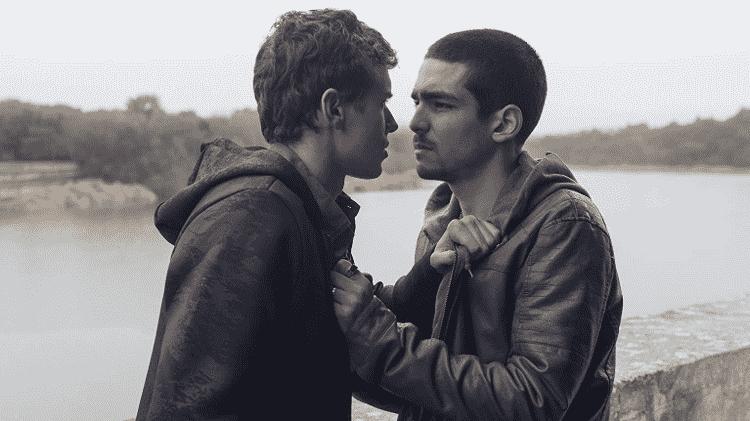 """Arón Piper e Omar Ayuso em cena de """"Elite"""" - Reprodução - Reprodução"""