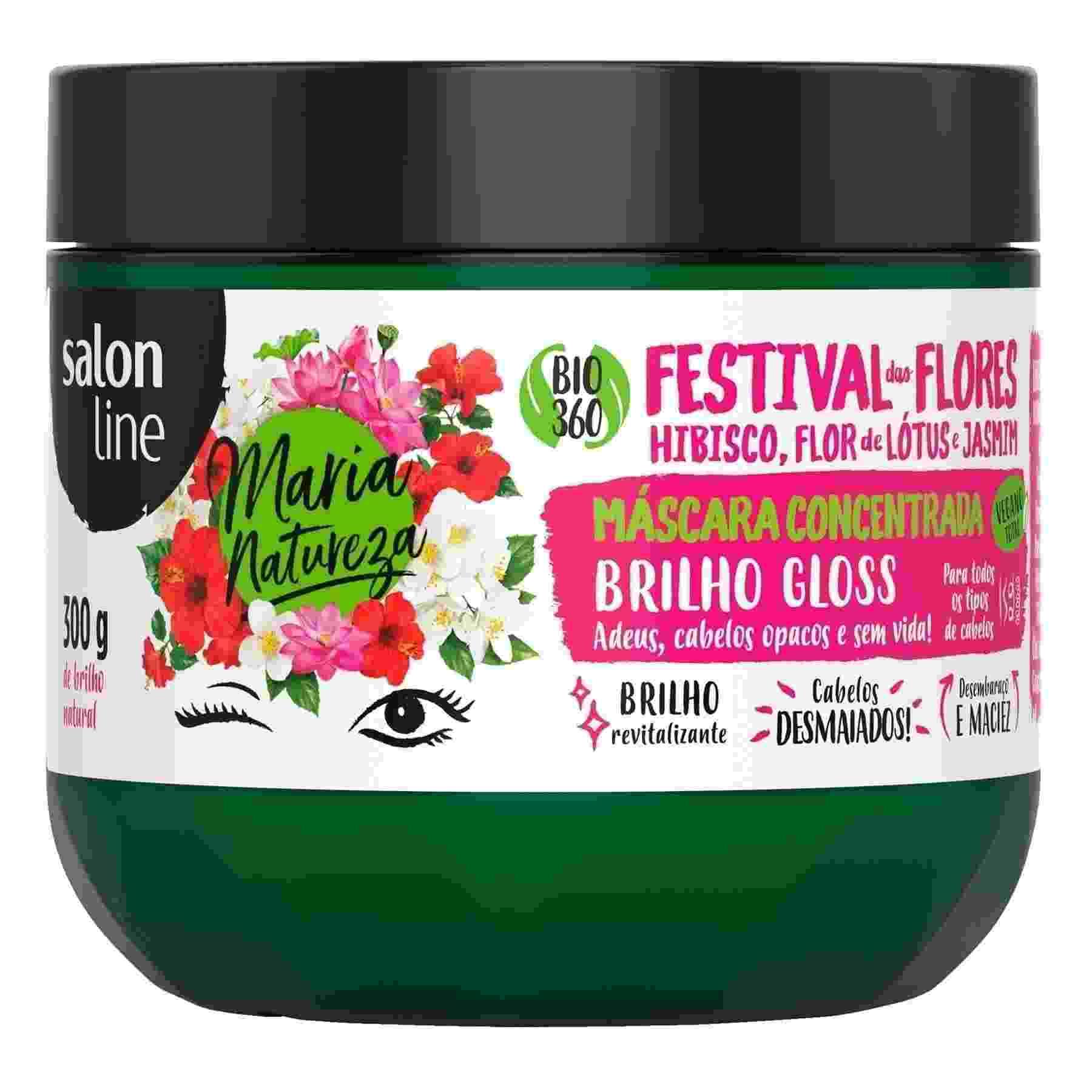 Máscara Concentrada Maria Natureza Festival das Flores, R$ 23, Salon Line, lojadasalonline.com.br - Divulgação