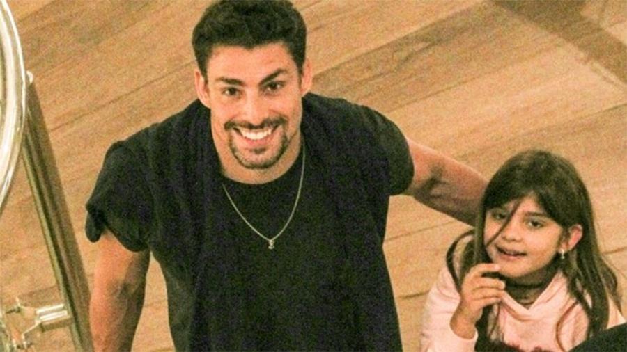 Cauã Reymond e Sofia - J Humberto / AgNews