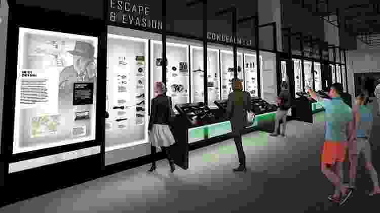 International Spy Museum, nos Estados Unidos - Divulgação/International Spy Museum - Divulgação/International Spy Museum