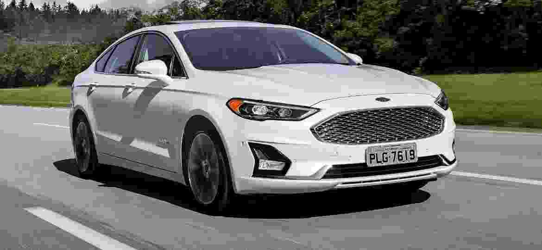 Linha 2019 do Ford Fusion, apresentada nos EUA em março do ano passado, estreia no Brasil - Divulgação
