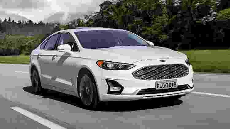 Ford Fusion - Divulgação - Divulgação