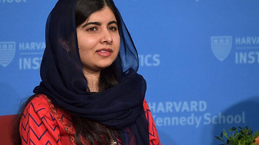 A ativista paquistanesa Malala Yousafzai ganhou o prêmio Nobel da Paz por sua defesa da educação - Getty Images