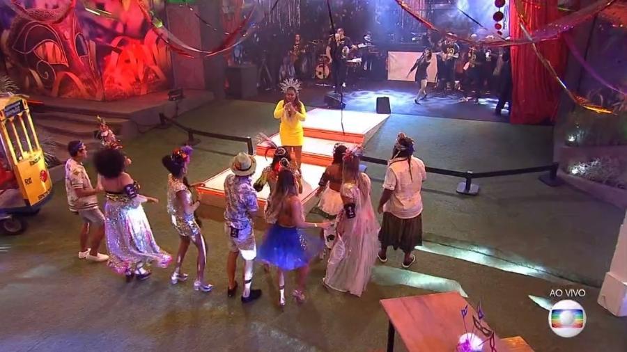 """Preta Gil se apresenta no """"BBB19"""" - Reprodução/Globoplay"""
