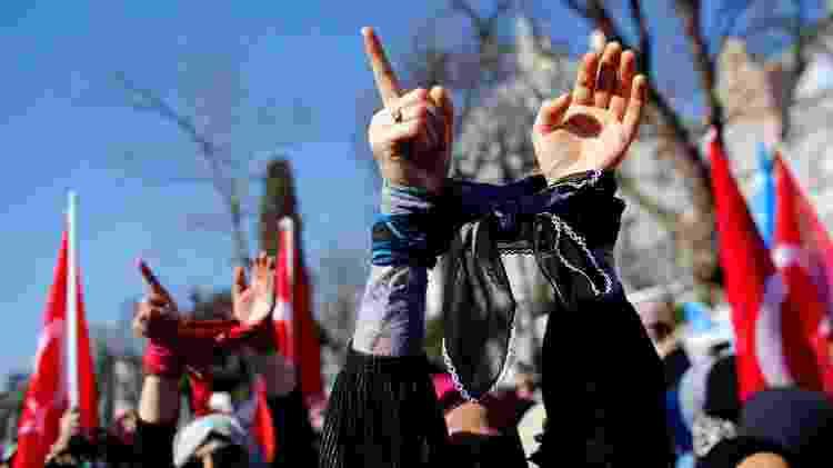 Dia das Mulheres Turquia - Reuters - Reuters