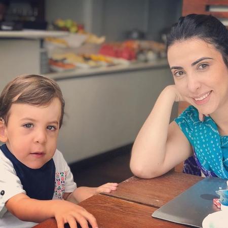 Leila e Gabinho - Arquivo Pessoal
