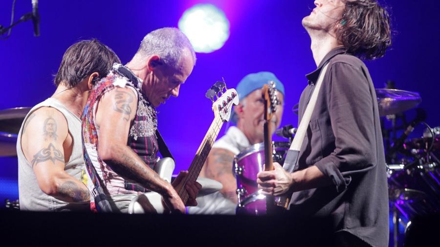 Red Hot Chili Peppers vende catálogo para fundo britânico por R$ 815 milhões - Marcelo Sá Barretto/Agência Brazil News