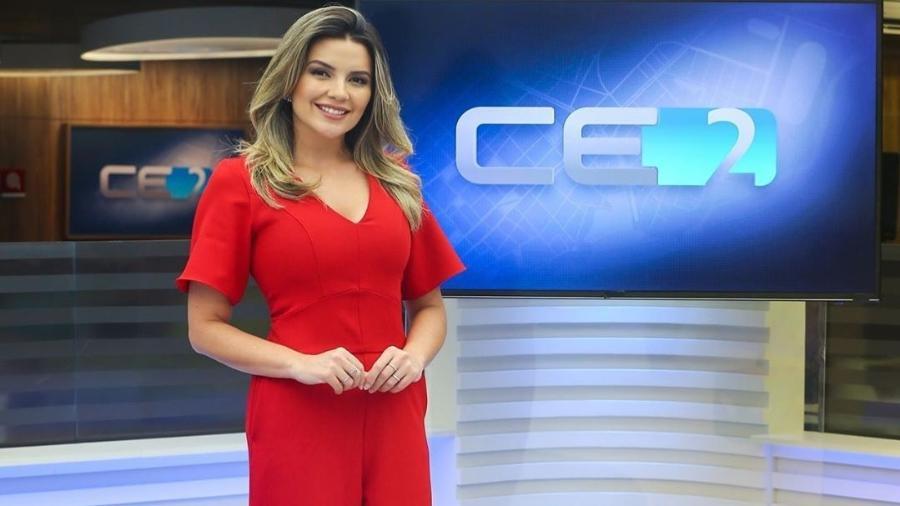 A jornalista Lívia Baral trocou a TV Verdes Mares, afiliada da Globo, pela TV Cidade, afiliada da Record no Ceará - Reprodução/Instagram/liviabaral