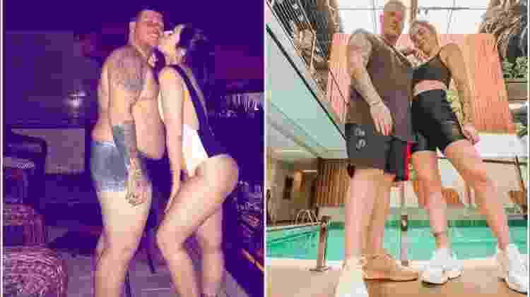 Ferrugem e Thais Vasconcelos perderam 40 quilos juntos - Reprodução/ Instagram