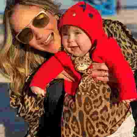 Claudia Leitte e a filha Bela - Reprodução / Instagram