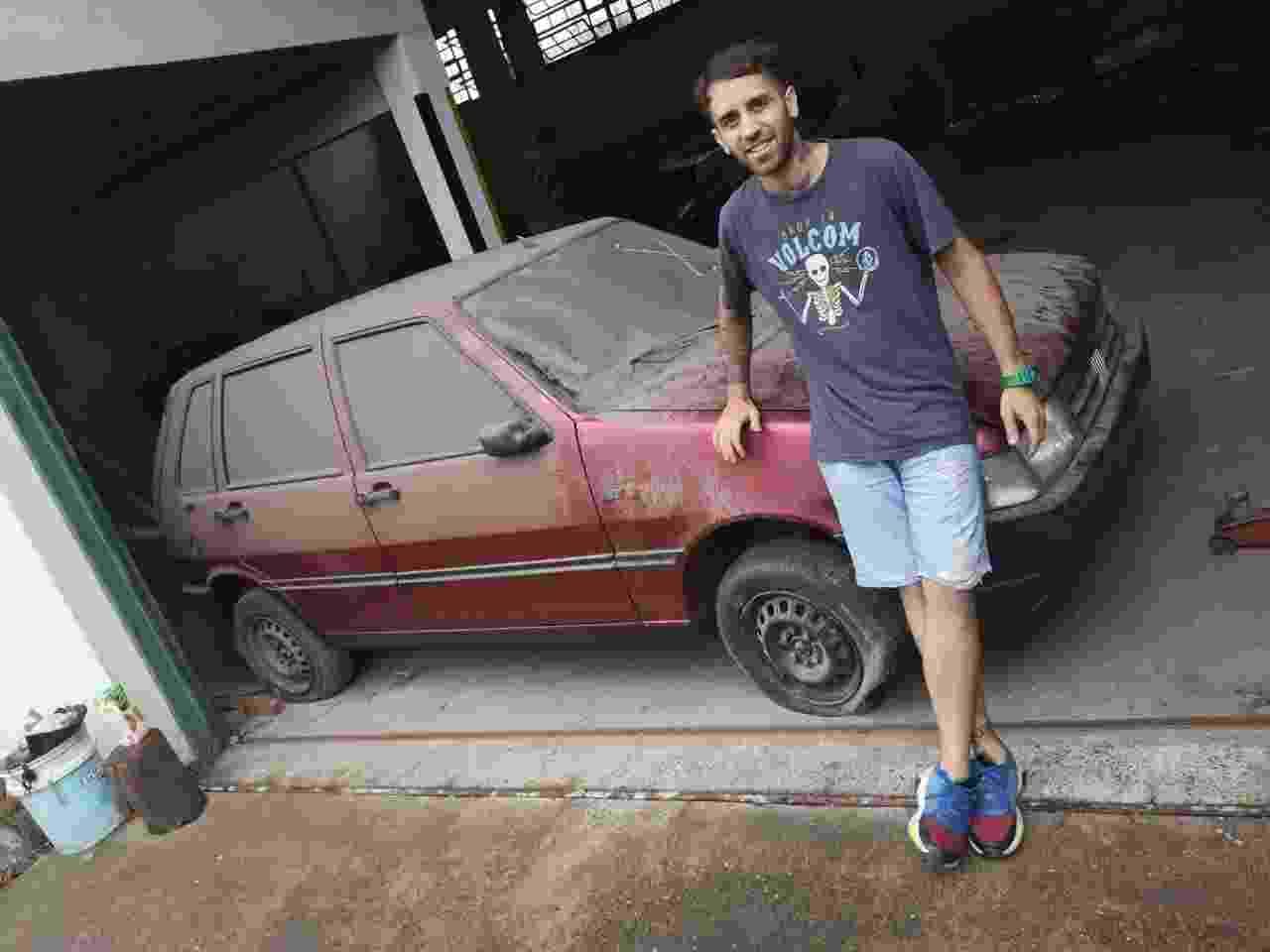 Kaskote Calcos Alexis carros zero comprados após 30 anos em depósito na Argentina Fiat Uno - Arquivo pessoal