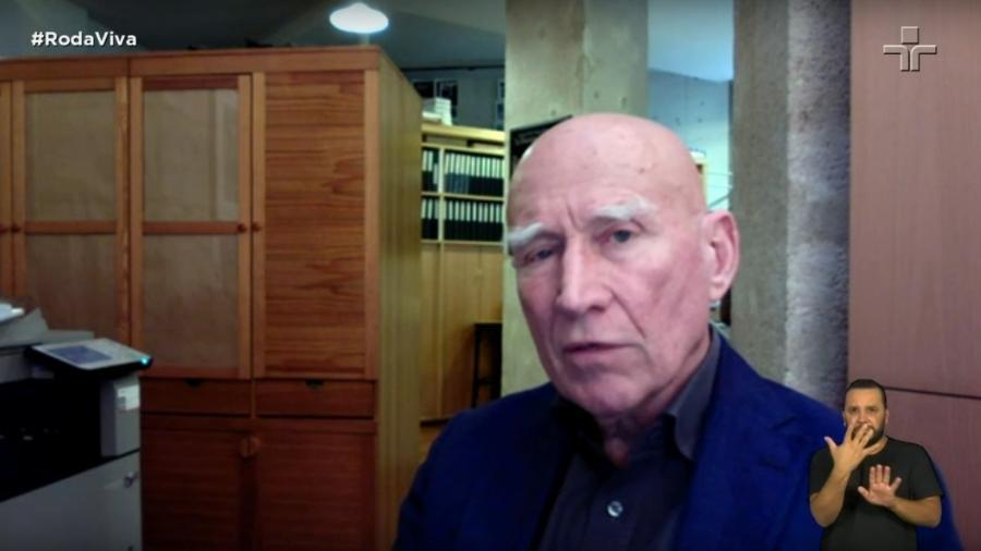 O fotojornalista Sebastião Salgado em entrevista ao Roda Viva, da TV Cultura - Reprodução/YouTube