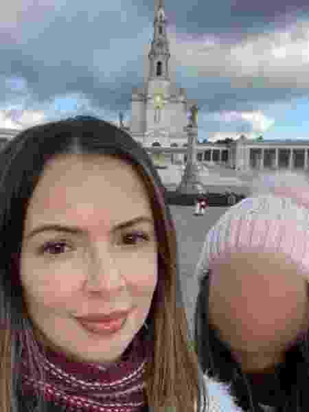 """Fran e a filha Bel, do canal no Youtube """"Bel para Meninas"""" - reprodução Instagram"""