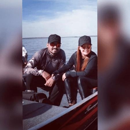 Maiara e Fernando Zor foram vistos pescando juntos após término - Reprodução / Instagram