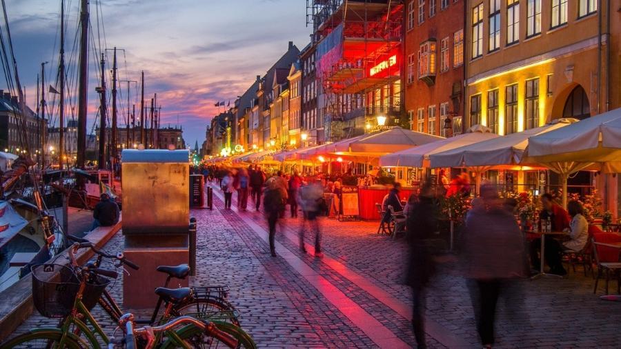 Copenhague, capital da Dinamarca - Getty Images/iStockphoto