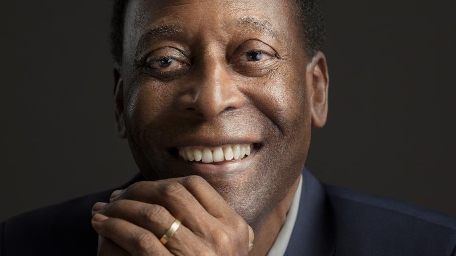 O ex-jogador Pelé entrou para a seleção da revista France Football - Sandro Baebler /Hublot via Getty Images