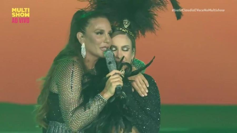 Ivete Santagalo e Claudia Leitte - Reprodução/Multishow
