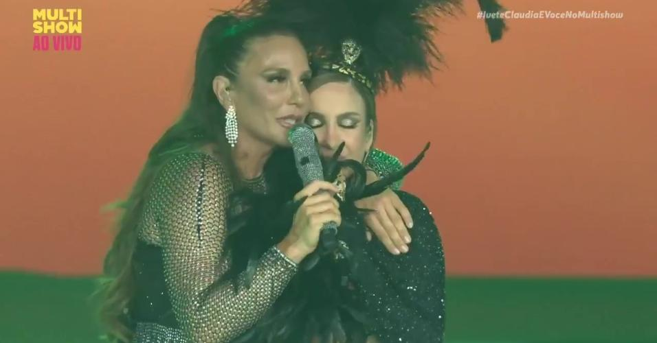 Ivete Santagalo e Claudia Leitte