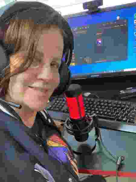 Kami Mãe (Sandra Bohm), 57 anos. Gamer, cosplayer e streamer. - arquivo pessoal - arquivo pessoal
