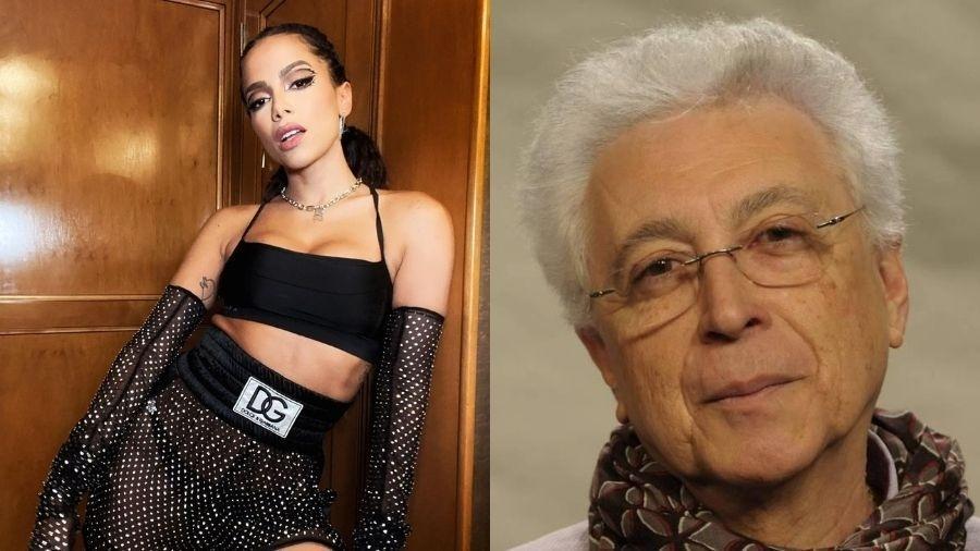 Aguinaldo Silva elogia Anitta no Video Music Awards - Reprodução/Instagram