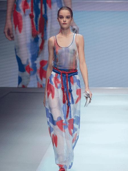 Emporio Armani primavera-verão 2022: os 40 anos da marca - Reprodução/Instagram - Reprodução/Instagram