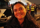 """""""Não vi nenhuma briga"""", diz dona de casa no centro de São Paulo na Virada Cultural - Reinaldo Canato/UOL"""