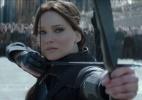 """Katniss incita rebeldes contra Snow em último """"Jogos Vorazes""""; veja trailer - Reprodução"""