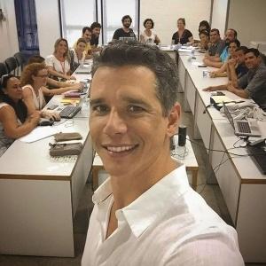Márcio Garcia posta foto com a equipe de seu novo programa na Globo, que será um game show entre famílias - Reprodução/Instagram/marciogarciamgp