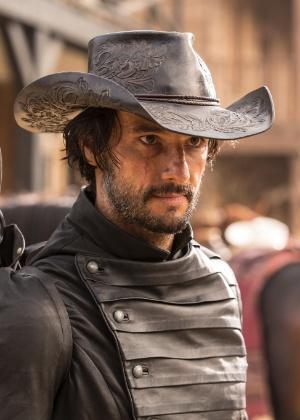 """Rodrigo Santoro na série """"Westworld"""" - Divulgação/HBO"""