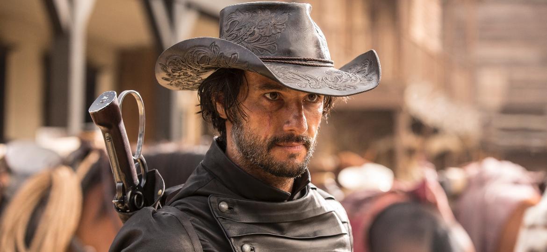 """Rodrigo Santoro em cena da primeira temporada de """"Westworld"""" - Divulgação/HBO"""