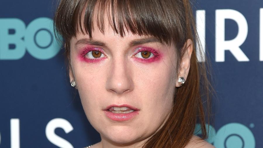 Lena Dunham na première de GIRLS - Getty Images