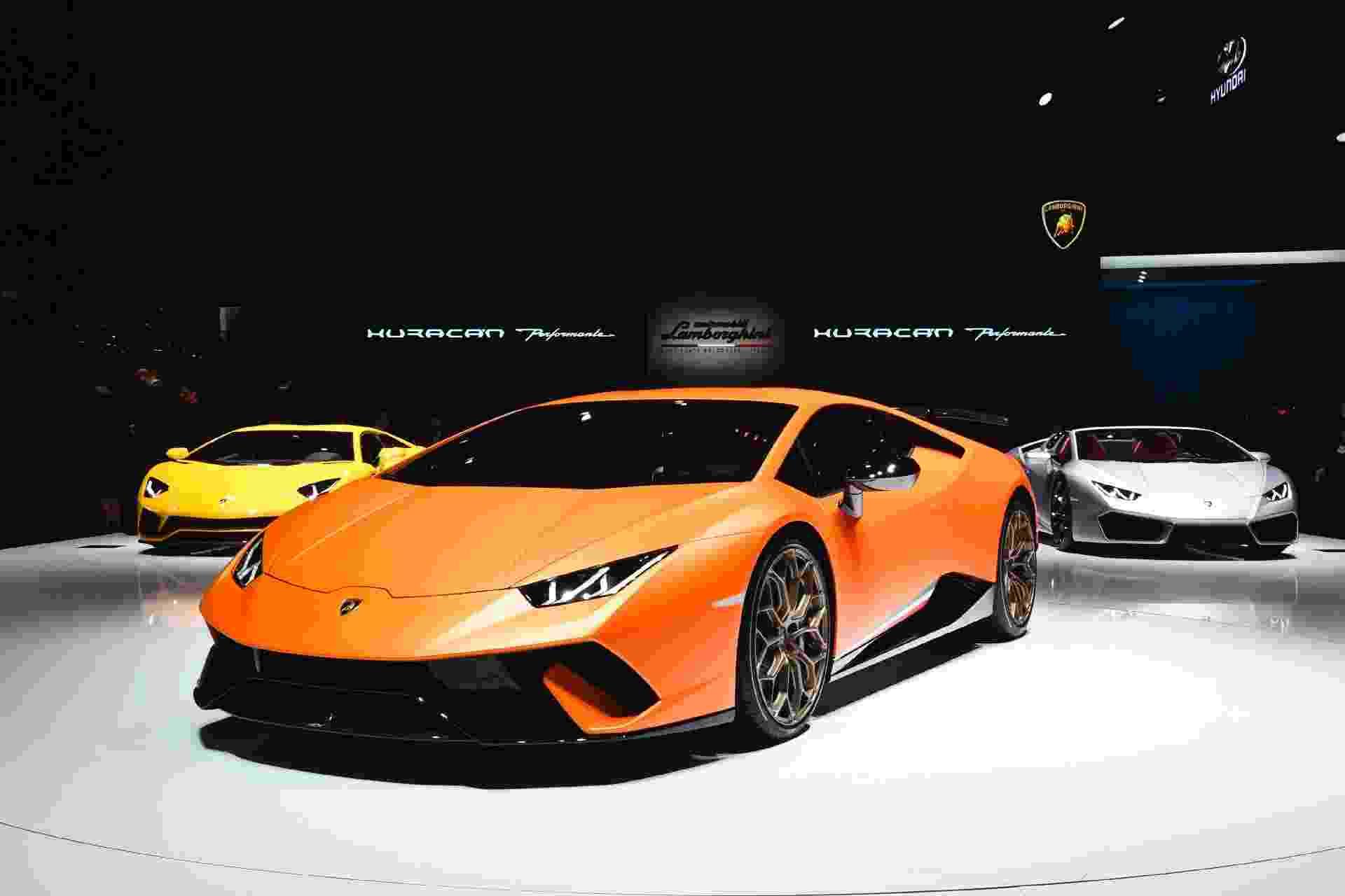 Lamborghini Huracán Performante - Alain Grosclaude/AFP