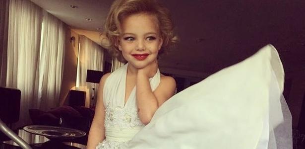 2fa6d8925ec9c Sheila Mello explica por que transformou filha de 4 anos em Marilyn Monroe  - 27 03 2017 - UOL TV e Famosos