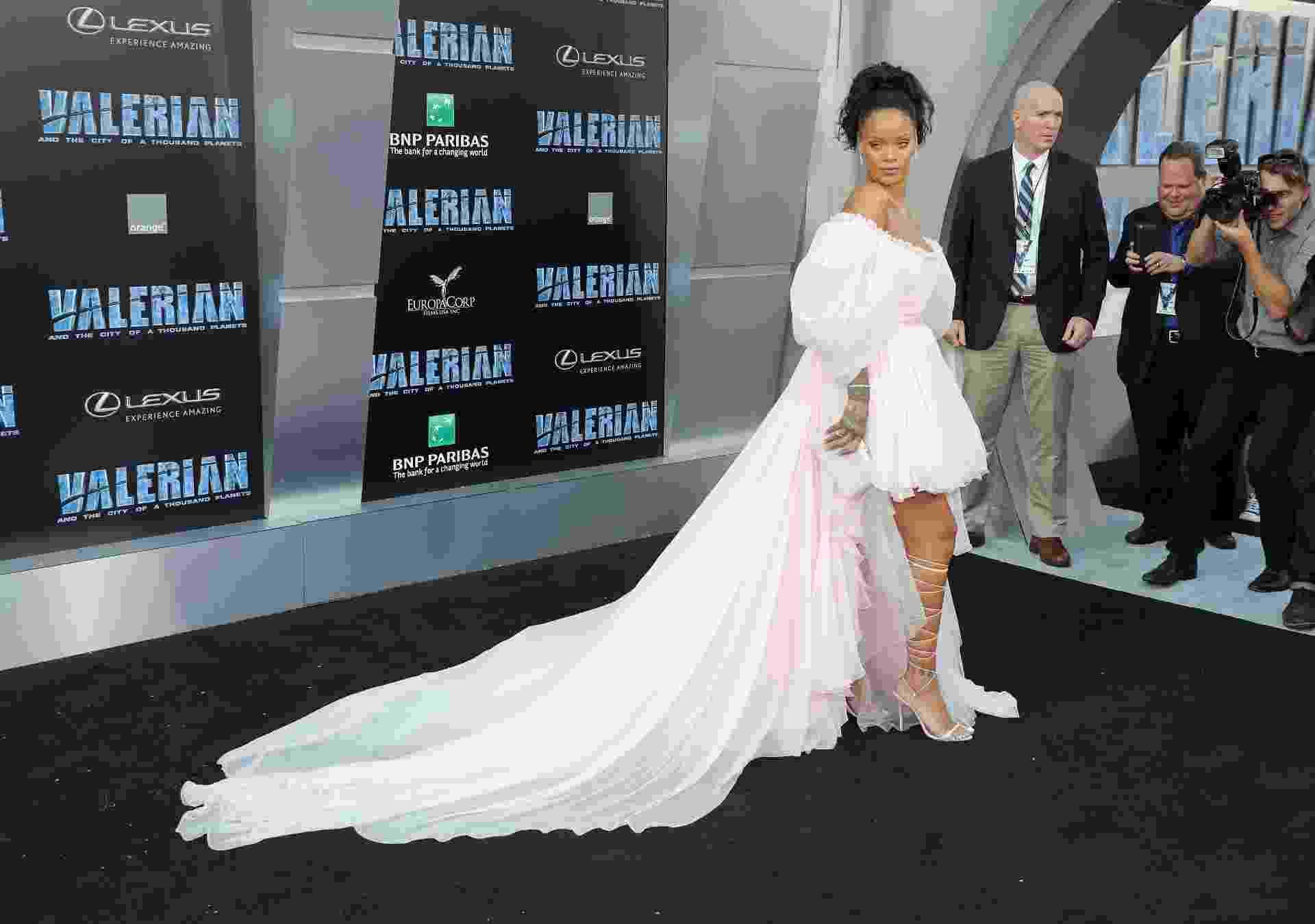 """Rihanna na première de """"Valerian e a Cidade dos Mil Planetas"""" - Getty Images"""