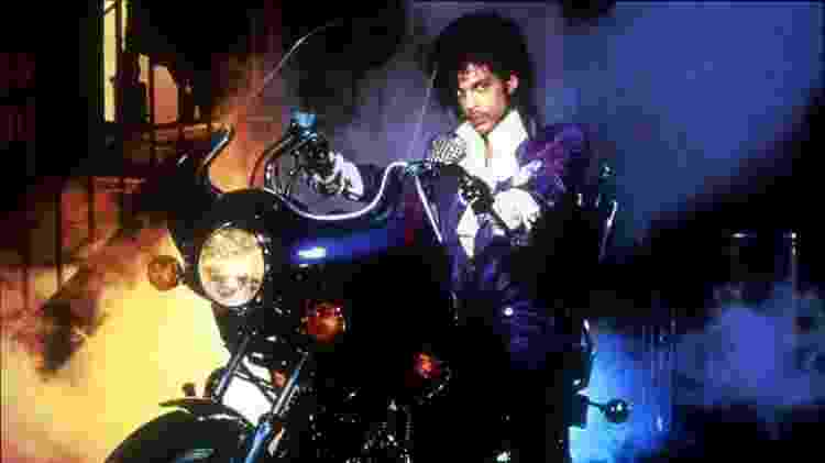 """Prince em cena de """"Purple Rain"""" - Reprodução - Reprodução"""