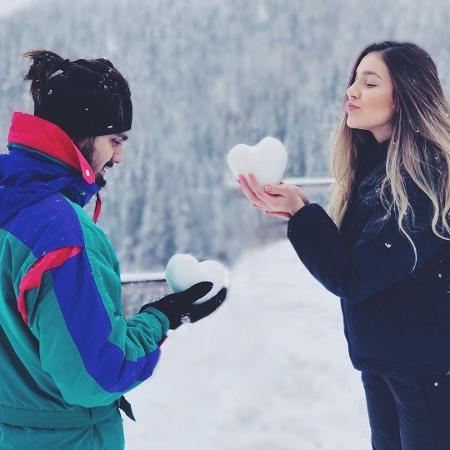 Luan Santana com a irmã, Bruna - Reprodução/Instagram