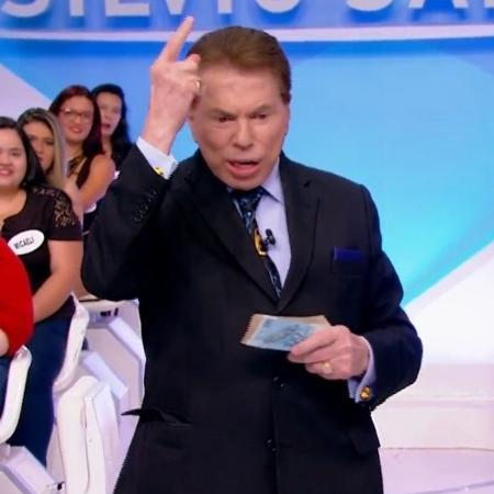 Silvio Santos reclamou de Gugu em seu programa - Reprodução/SBT
