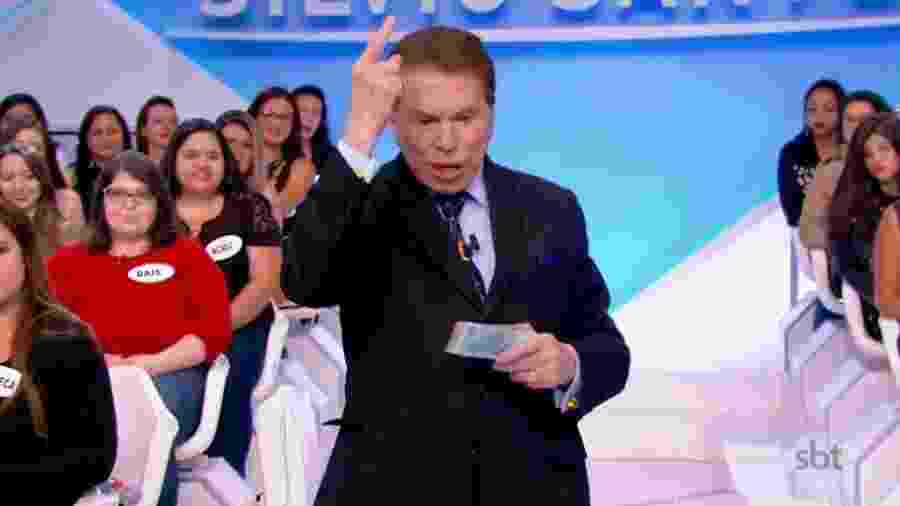 Silvio Santos idealizou e apresentas o Teleton há 20 anos - Reprodução/SBT