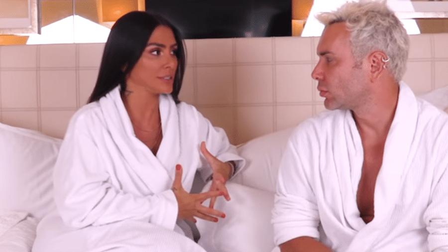 Cleo Pires é entrevistada por Matheus Massafera - Reprodução/YouTube